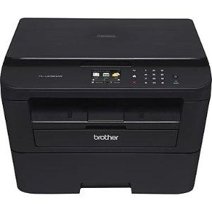 $79Brother HLL2380DW Wireless Monochrome Laser Printer(Copy, Scan, Print), Refurbished