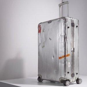 From $305Rimowa Suitcase  @ Selfridges