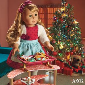 低至4折 积分膨胀 圣诞袜只要$3限今天:American Girl美国娃娃官网网络星期一促销,小苏瑞等明星宝宝的最爱