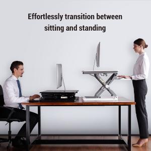 $244.99限今天:FlexiSpot 5.08 cm 高度可调节站立办公桌