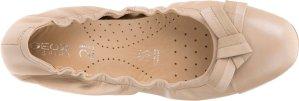 $75 (原价$150)  国内特价¥1119 (原价¥1590)意大利品牌 GEOX 女式LOLA 2FIT 蝴蝶结平底鞋 呼吸透气 还有黑色
