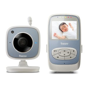 $35iNanny NM204 Digital Video Baby Monitor with 2.4-Inch LCD Display