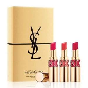 $74.00ROUGE VOLUPTÉ SHINE LIP TRIO SET @ YSL Beauty