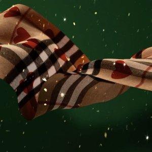 最高立减$200Burberry羊绒、羊毛围巾$250手快有,美包美鞋配饰等热卖