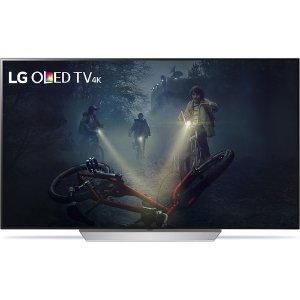 $2696.99 送Goole HomeLG OLED65C7P 65寸 超高清 OLED 智能电视