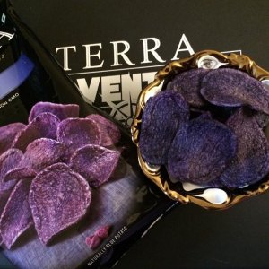 $15.08TERRA Vegetable Chips, Blues with Sea Salt, 1 Ounce (Pack of 24)