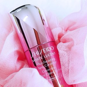 From $130 + GWPShiseido White Lucent MicroTargeting Spot Corrector (Serum)