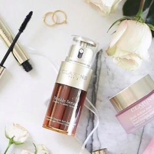 Buy 1 Item & Get 1 for 30% Off +15% Off + Free Giftwith Clarins Purchase @ Bon-Ton