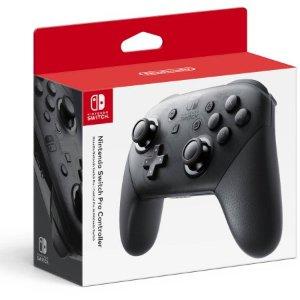 $49.99 (原价$69.99)Nintendo Switch Pro 无线控制器