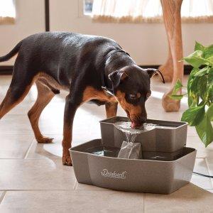 $37.99限今天:PetSafe双层宠物饮水机