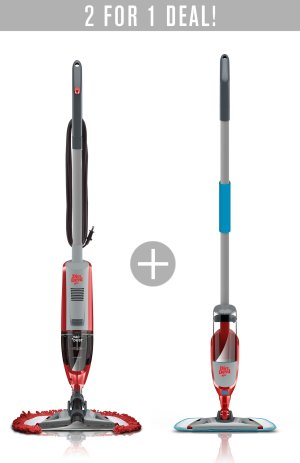 $39Buy the Vac+Dust Corded Stick Vacuum and Get the Spray+Mop FREE!  @ Dirt Devil