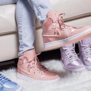 丝绸款美到窒息了 $160+免邮Nike 最新女款 Air Jordan 1 SOH 系列本周发售 10款配色任你选
