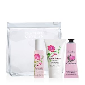 50% offselect Rosewater items @ Crabtree & Evelyn