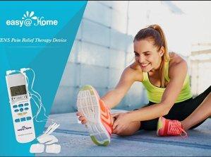 史低$32.99( 原价$82.96)在家也能做理疗~Easy@Home TENS 手持式电子脉冲理疗仪
