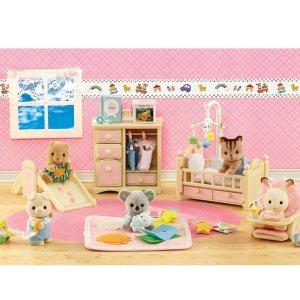 $13.03史低价:Calico Critters 豪华育婴房套装