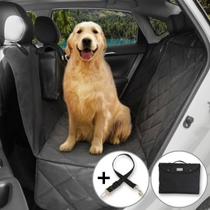 $20Lifewit Waterproof Pet Seat Cover Dog Car Seat Cover for Cars Trucks and SUVs, Scratch Proof