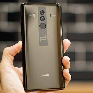 预定开放 $1225Huawei Mate 10 保时捷限定合作款 钻石黑无锁手机
