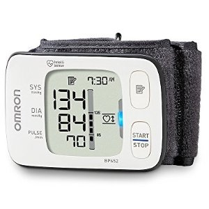 $39 Omron Clinically Proven Accurate with Heart Zone Guidance 7 Series Wrist Blood Pressure Monitor