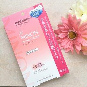 $10.19Minon Amino Moist Purupuru moist skin mask 22mL × 4 sheets