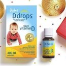 $13.26 Ddrops Baby Vitamin D3 400IU, 90 drops 2.5mL (0.08 fl.oz)
