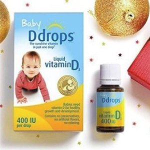 $13.31Ddrops Baby Vitamin D3 400IU, 90 drops 2.5mL (0.08 fl.oz)