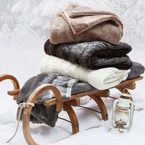$25 (原价$80)Indigo 柔软毛毯 (两色可选)