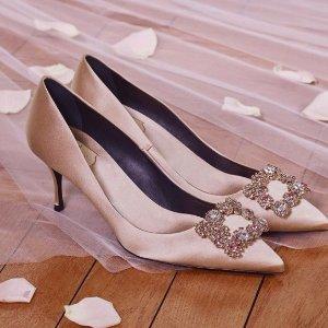最高直减$250Roger Vivier 方扣鞋、新款钻扣等美鞋热卖