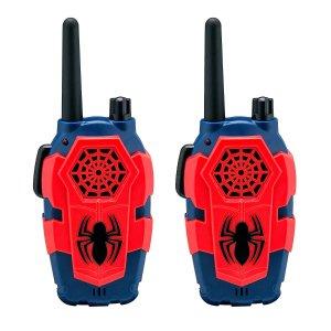 $9.99 (原价$24.99)补货:蜘蛛侠儿童无线对讲机一对 超值低价,炫酷好玩
