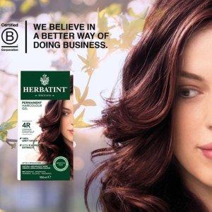 $17.99+满$40再减$10健康无毒!纯植物 Herbatint天然染发剂