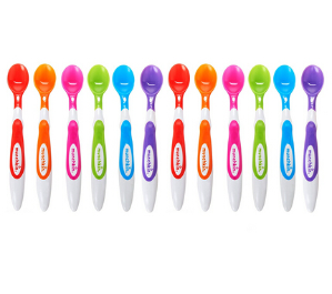 $8Munchkin 12 Piece Soft-Tip Infant Spoons