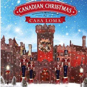 冬天带来雪花 圣诞带来情话多伦多周末游:Casa Loma百年圣诞大狂欢