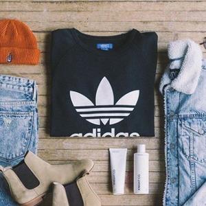 8折 最新款adicolor也参加Adidas origins 三叶草潮服、鞋履热卖 男女都有