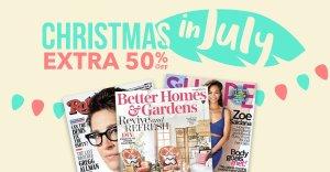 50% offSelect titles @Magazines.com