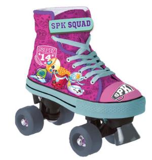 $19.98Shopkins Kids Quad Skate 女童款溜冰鞋 3号