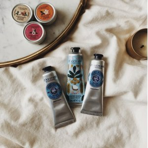 Up to 7-PCFree Gift With Purchase @ L'Occitane