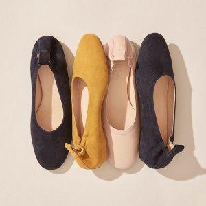 低至5.5折Everlane 精选性冷淡风鞋子促销