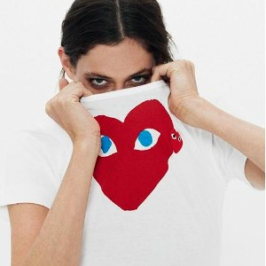 10% off + Free Worldwide ShippingComme des Garcons Play @ Farfetch