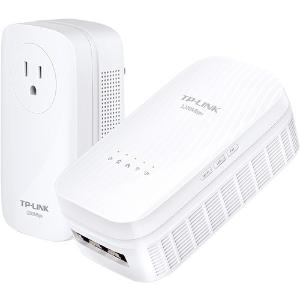 $74TP-Link TL-WPA8730 KIT AV1200 Gigabit Powerline AC Wi-Fi Kit