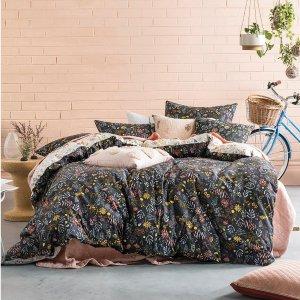 低至5折起 无门槛免邮上百款纯棉床上用品、居家摆设系列季末清仓,新年换新床单哦